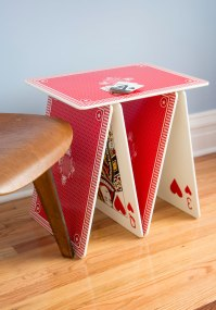 A La Card Accent Table | Mod Retro Vintage Decor ...