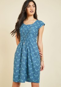 Choosing Countrysides Cotton Dress | Mod Retro Vintage ...