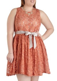 Spiced Tea Time Dress in Plus Size | Mod Retro Vintage ...