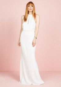 Magnificent Mrs. Maxi Dress in White | Mod Retro Vintage ...