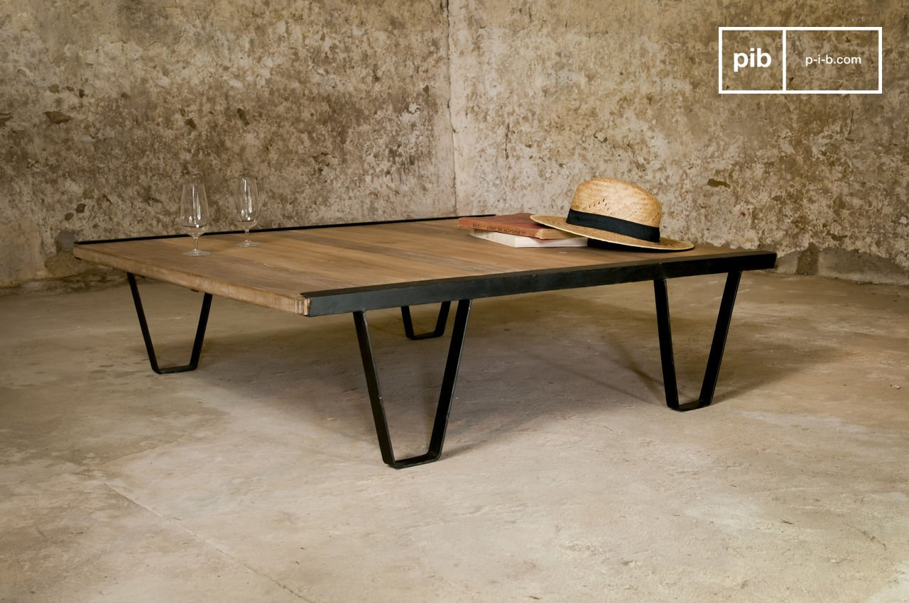 Tabke Basse Table Basse Bay Teck