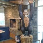 Big Foot at the Burton Snowboards Headquarters in Burlington, VT