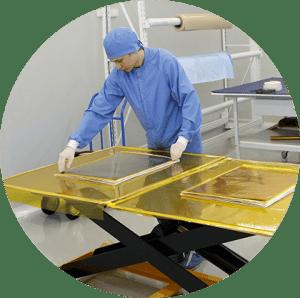 термическая очистка поверхности