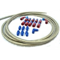 Fuel Return Kit ( Hose ends, fittings, and Hose)