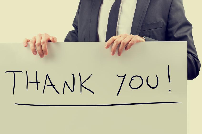 3 Reasons to Nix Saying Thank You - Professionally Speaking