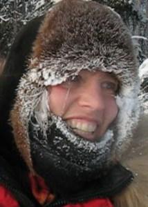 A frosty Aliy Zirkle