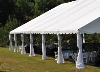 Tent Leg Drapes  Professional Party Rentals