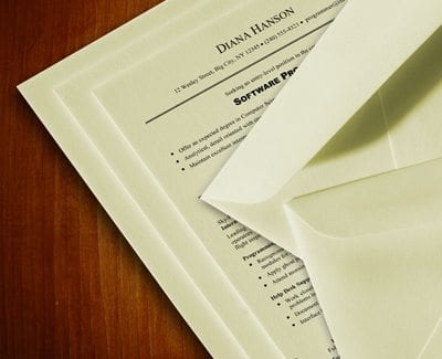 The Weight of Resume Paper What Should You Print On? - Professional