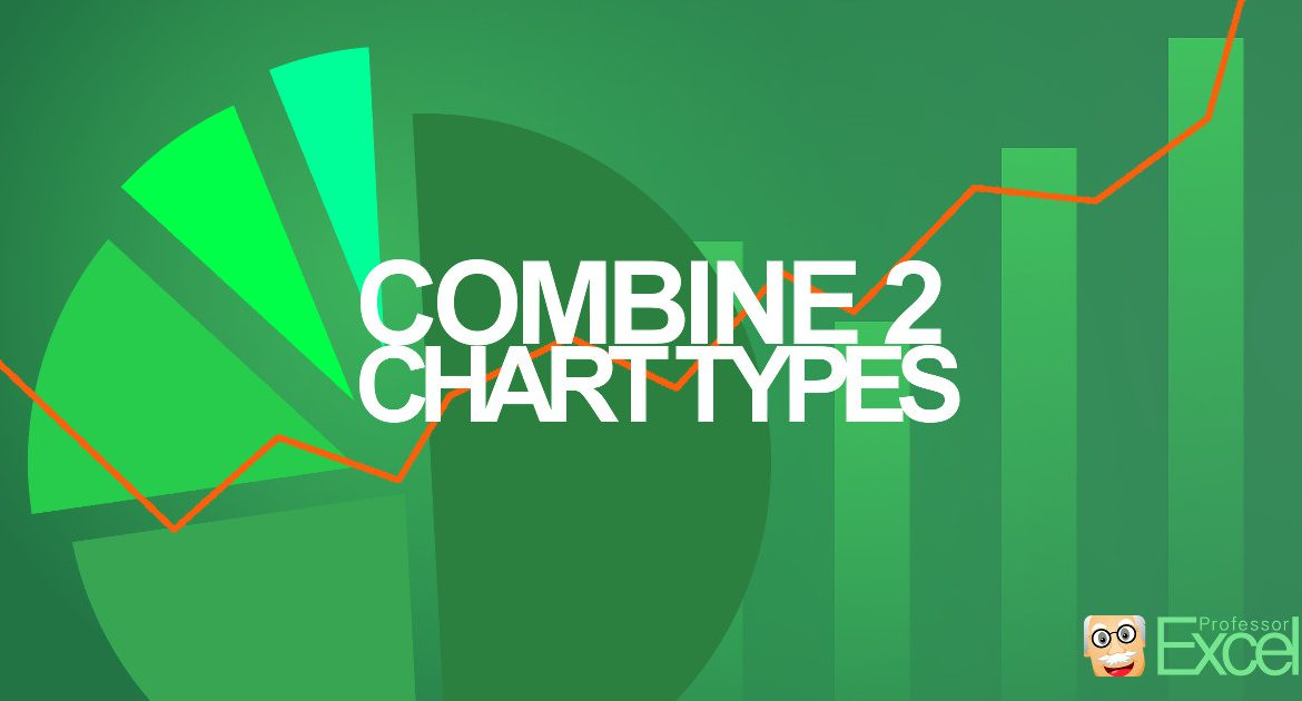 Two Chart Types in One Excel Chart How to do it? (+Animation - types of excel charts