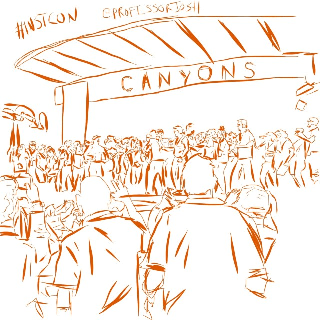 MC Hammer and Canvas Instructure Crew INSTCON 5 Social Networking Tips