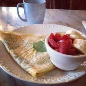 Eat in Austin Crepes