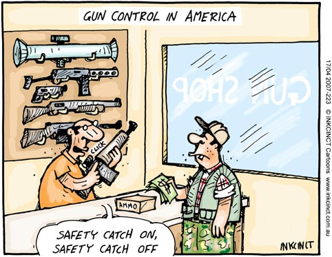 What is a good title for being for gun control?