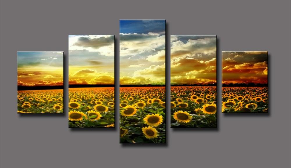 Sunflowers in China