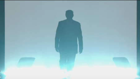 Donald Trump Silhouette at The RNC