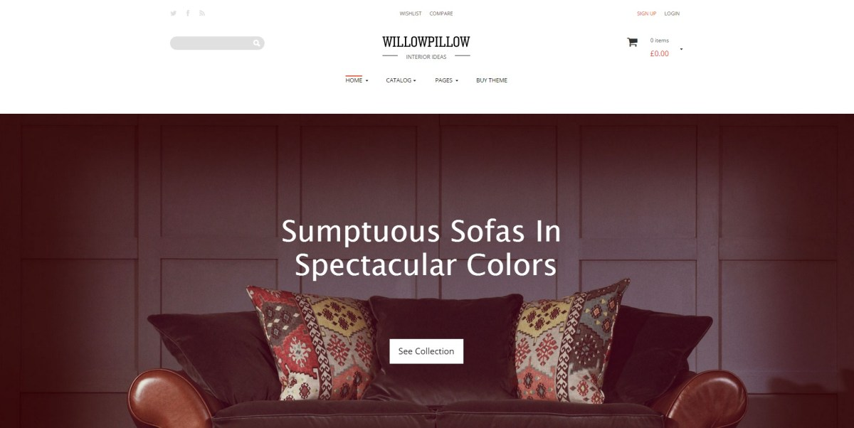 Best Furniture Store E-commerce Themes for Wordpress 2016