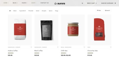Perfect cosmetics WordPress theme