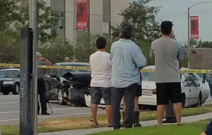 sacramento county multi car accident