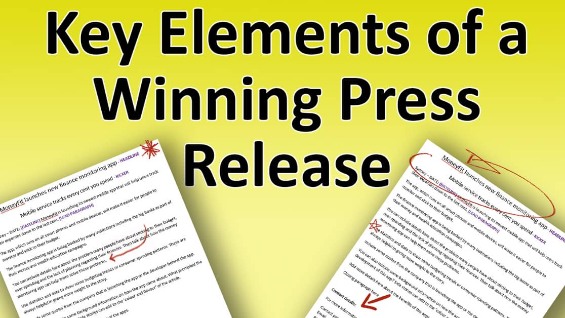 Press Release Template A Guide To Writing Effective PRs - Profile