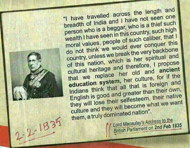 LORD MACAULAY AND ENGLISH EDUCATION IN INDIA Sulekha Creative