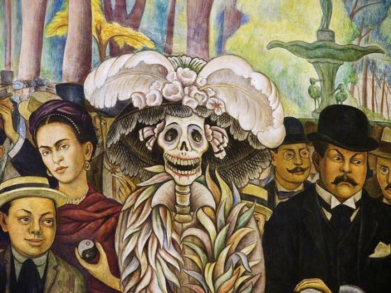 Fresque murale de Diego Rivera
