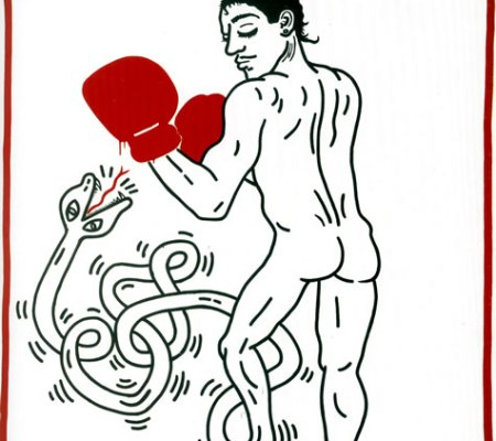 Portrait of Macho Camacho, Keith Haring