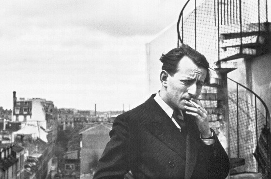 André Malraux photographié par Gisèle Freund en 1935 © Agence Nina Beskow