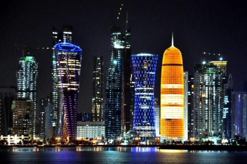 Skyline de Doha © Melty Campus