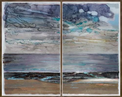 Normandy Annoville, 2011, Acrylique et Encre sous Perspex, 235x310 cm