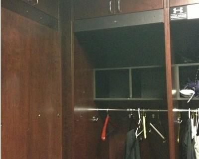 ray lewis' locker