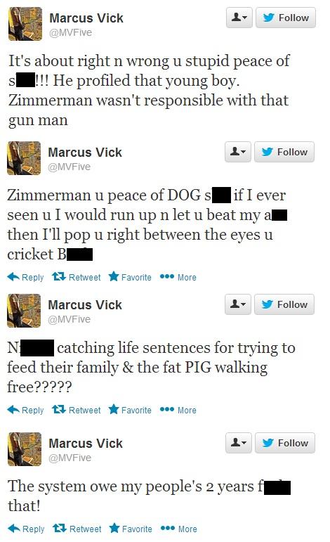 marcus-vick-george-zimmerman-tweets
