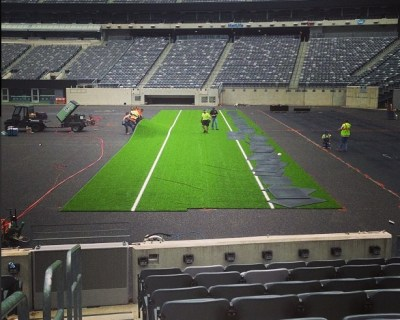 metlife new turf