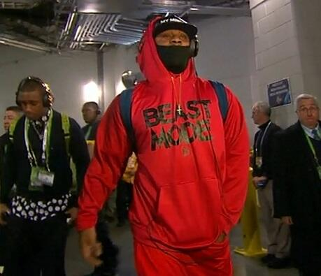 beast mode marshawn lynch