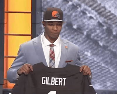 Browns draft CB Justin Gilbert