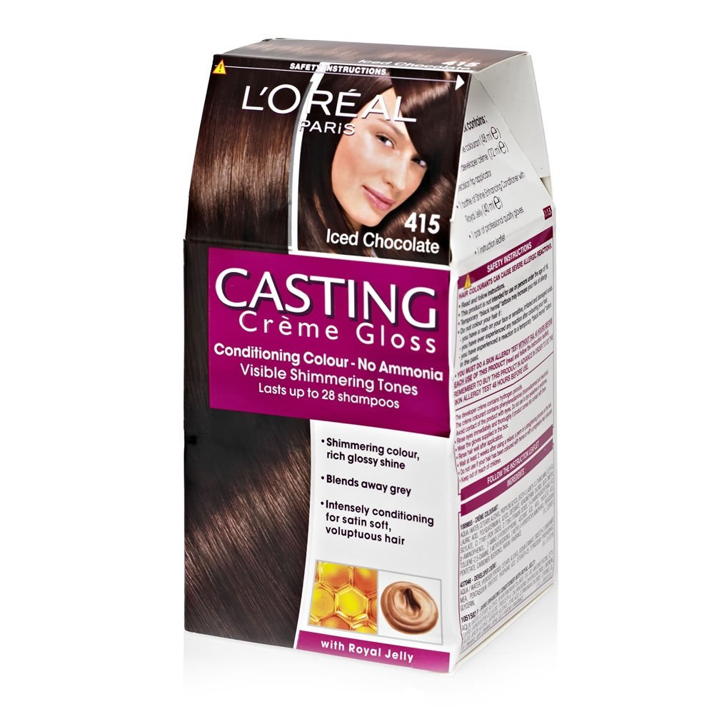 Saloni Paris Details About L Oreal Paris L L Oreal Casting Crem Gloss 415 Brown Glace 3600521044896