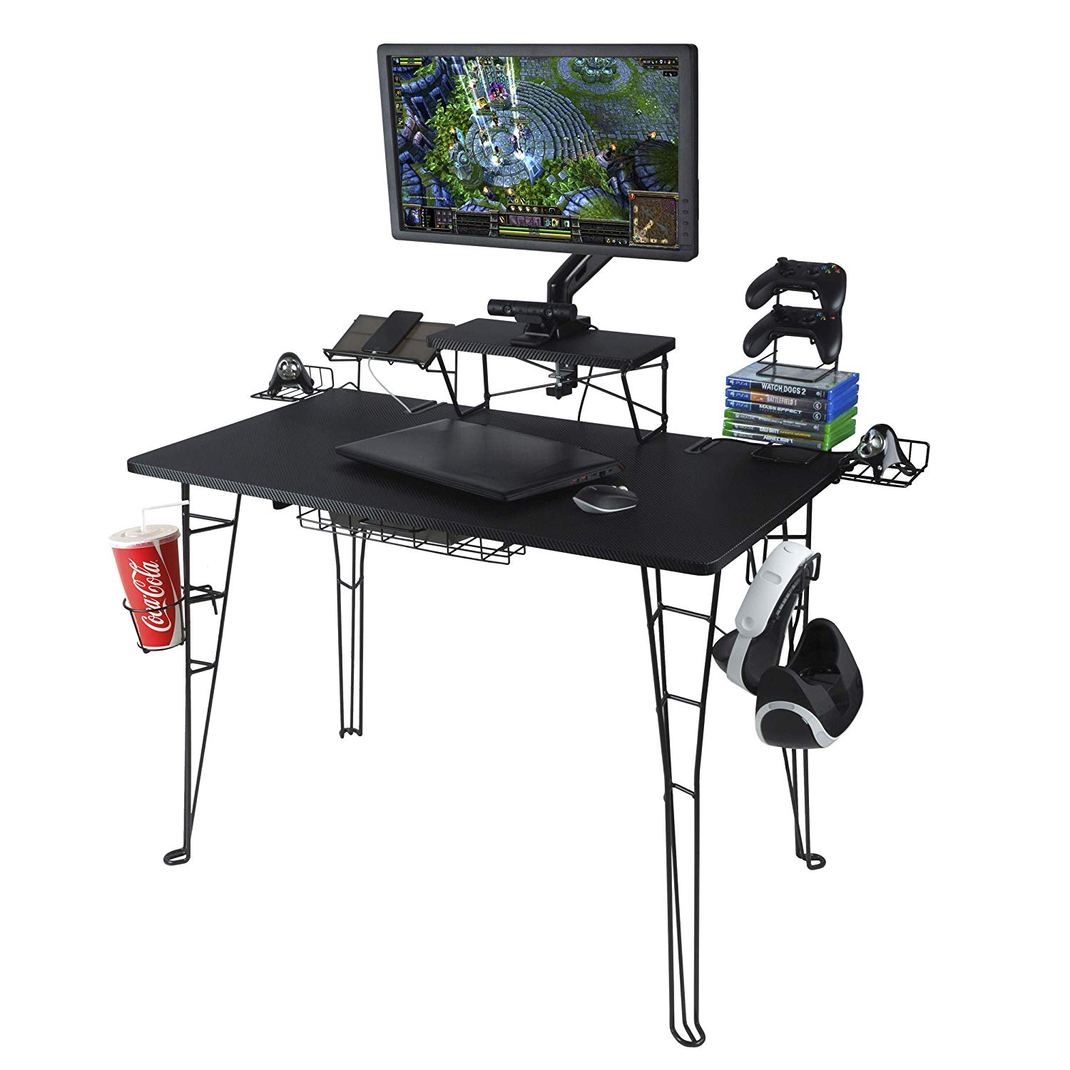 Computer Gaming Desk The 10 Best Pc Gaming Desks 2019 Pro Gamer Reviews