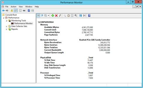 Windows Server 2012  Comprehensive Performance Analysis and Logging - performance analysis report