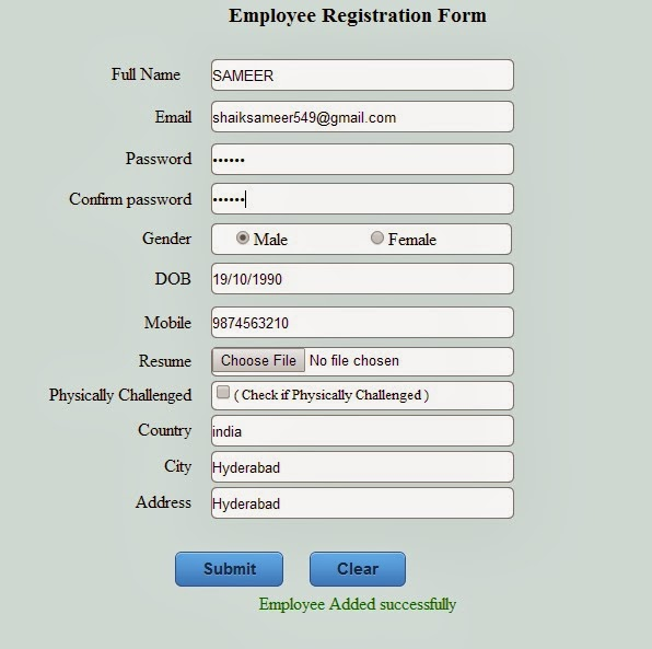 Colorful Employee Registration Form Gift - Best Resume Examples by