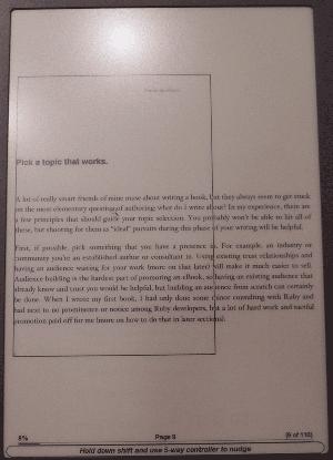 The awkward 150% PDF zoom on the Kindle DX (Authoring eBooks)