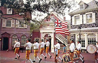 Liberty Square postcard image