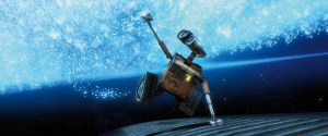 WALL-E in space