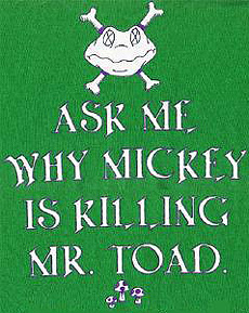 Ask me why Mickey is killing Mr. Toad