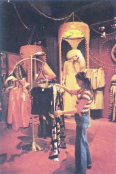 Disney Village clothing shop, 1973