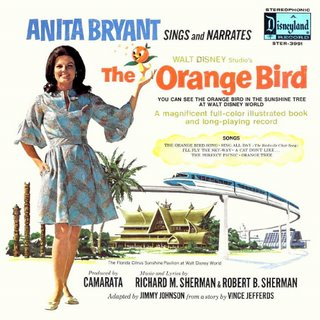 Little Orange Bird LP Back Cover