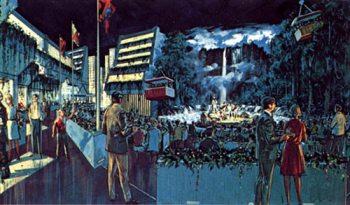 EPCOT Venezuela pavilion rendering