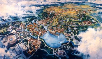 Animal Kingdom park rendering