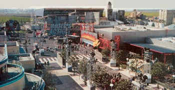 Disney Studios Paris - view of tarmac