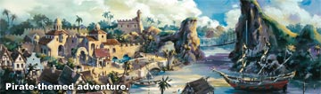 Hong Kong Disneyland Pirate Land, 2006 Annual Report