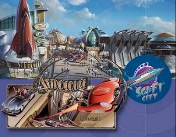 Tokyo Disneyland's Sci-Fi City