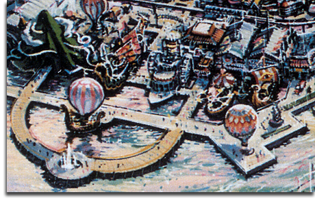 Port Disney - DisneySea - Fleets of Fantasy rendering, 1990 (small)