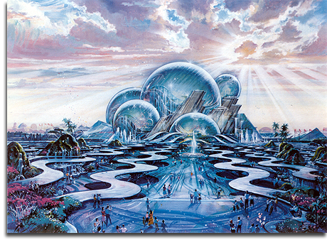 Port Disney - DisneySea - Oceana rendering, 1990 (small)